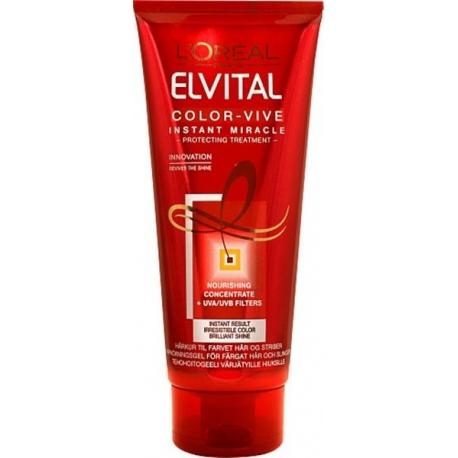 ELVITAL COLOR-VIVE intensyvaus poveikio balzamas dažytiems plaukams, 200ml