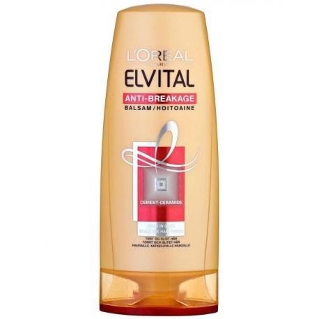 Elvital Nutriceramide balzamas pažeistiems, lūžinėjantiems plaukams
