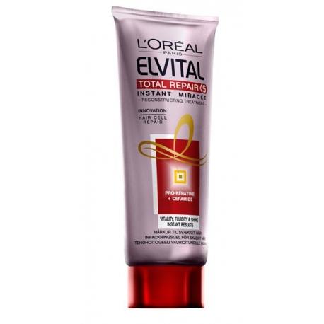 ELVITAL Total Repair 5 miracle gelee intensyvaus poveikio balzamas 200 ml