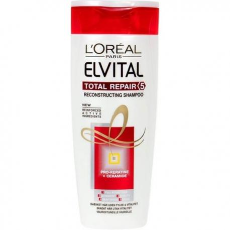 Elvital Total Repair 5 šampūnas 400 ml