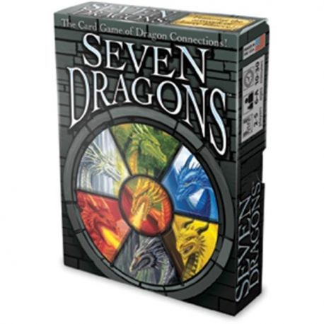 Kortų Žaidimas '7 Drakonai'
