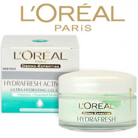 L'Oreal D/E Triple Active Fresh veido kremas normaliai/mišriai odai 50ml